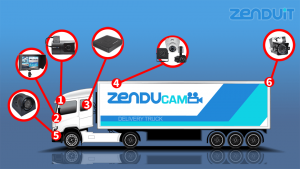 multi-camera fleet solution benefits transportation companies