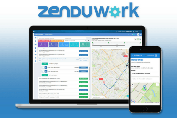 ZenduWork dispatching software