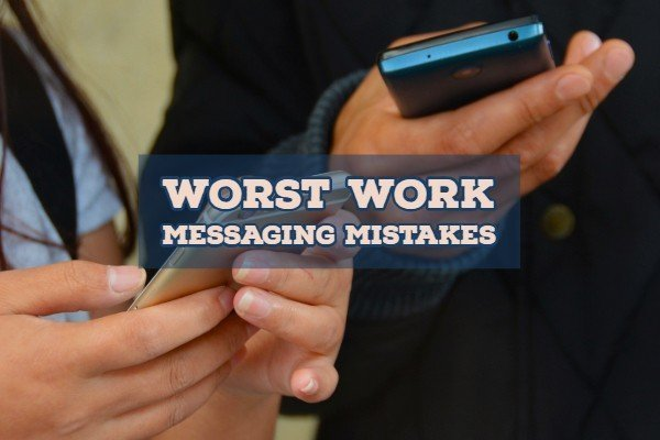 Driver messaging & worst work email mistakes