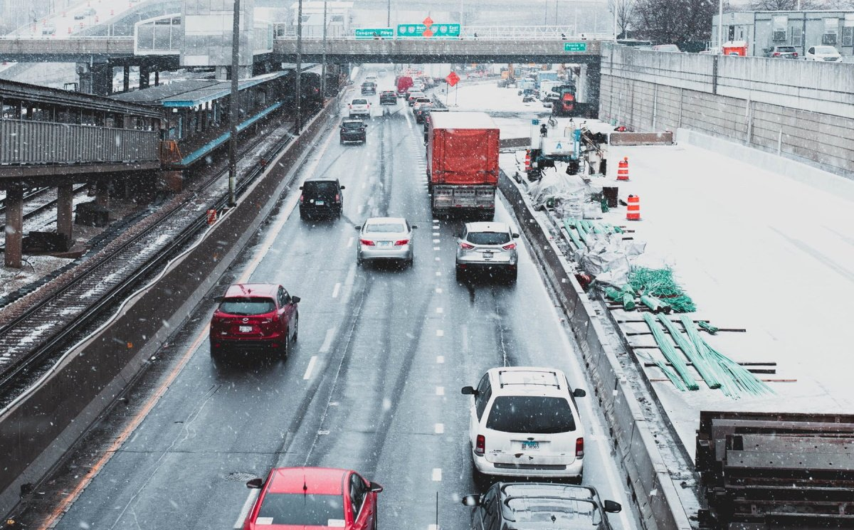 Bad weather conditions on the highway lead to increased chances of an accident