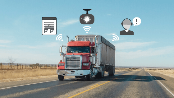 Using Technology To Maintain Social Distancing in Fleets