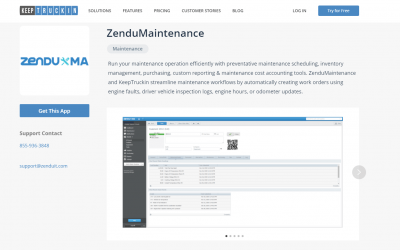 ZenduMaintenance Is Now Available On Two Powerful Marketplaces