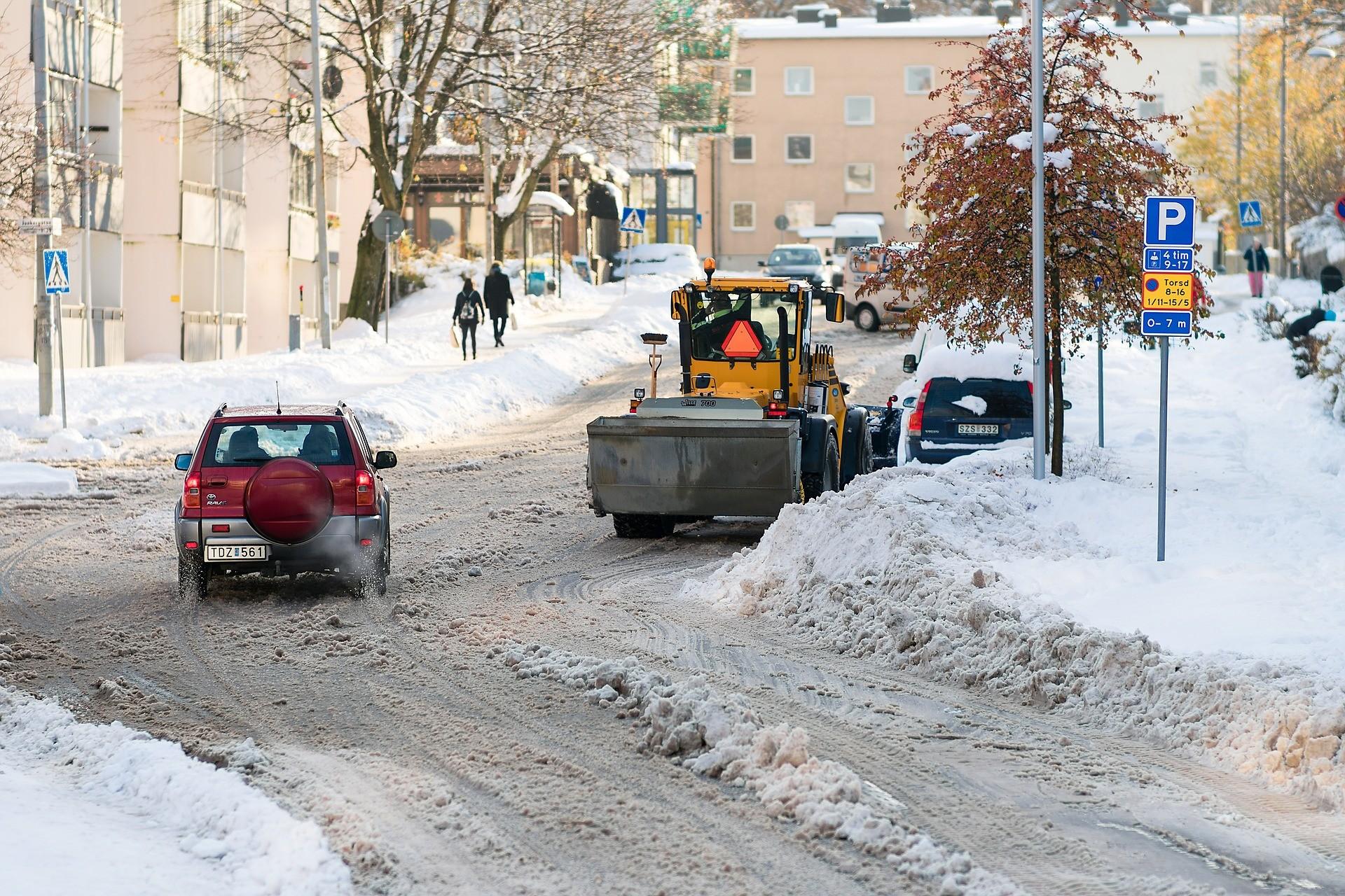 snow plow, Winter Operation Programs,