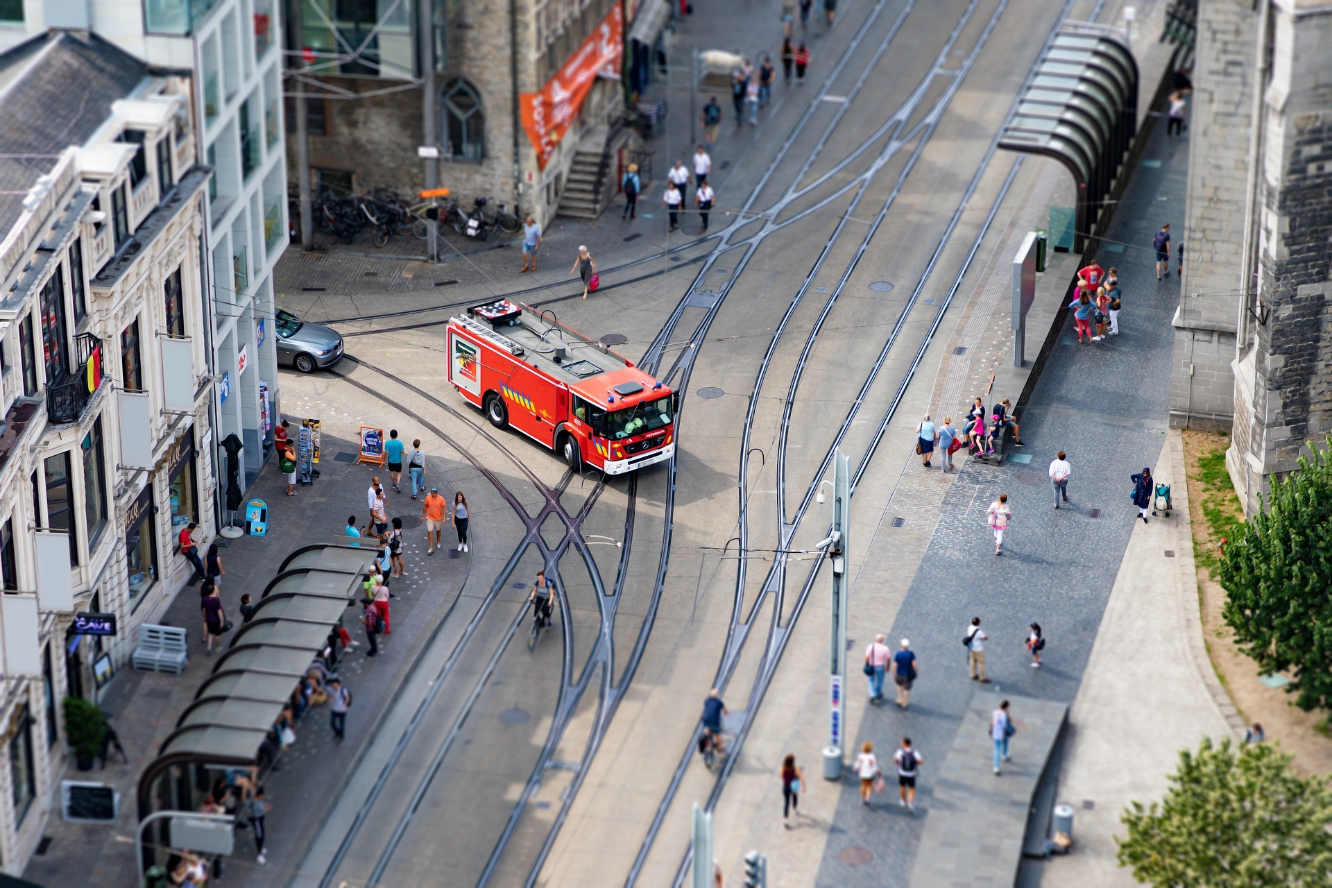 first responders, telematics, emergencies, climate change, urbanization